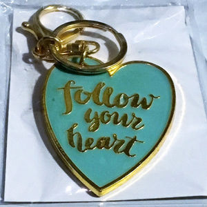 Accessories - Follow Your Heart Key Chain